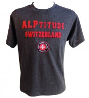 T-Shirt ALPtitude, grau