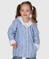 EDELWEISS-Kapuzen-Jacke für Kinder mit Webpelzfutter