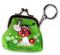 Portemonnaie Mumu Cow, grün