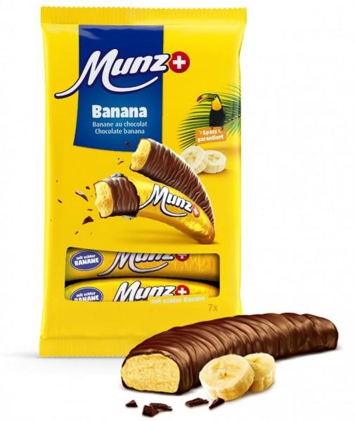 Munz Schokolade Banane, 133g
