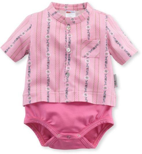 Baby-Body SCHWINGER, kurzarm, geknöpft