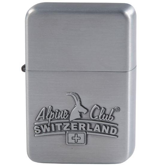 Benzinfeuerzeug Alpine Club Switzerland