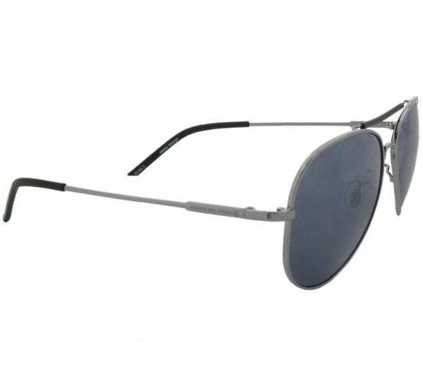 Sonnenbrille Pilot, silber/schwarz