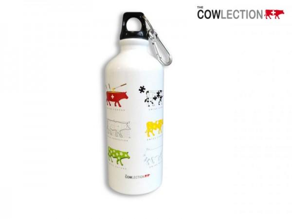 Trinkflasche Kühe weiss 0.6 l