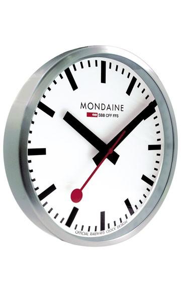 Mondaine Wanduhr Bahnhofsuhr rund Wall Clock Round