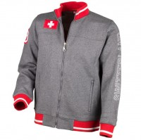 Urban-Jacke Polo Club Switzerland, grau