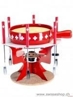fondue sets haushalt k che sortiment schweizer souvenirs i. Black Bedroom Furniture Sets. Home Design Ideas