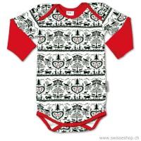 Baby-Body SCHERENSCHNITT, langarm