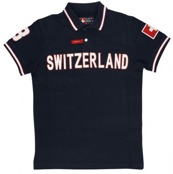 Poloshirt Club Switzerland, Unisex