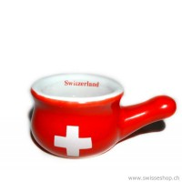 Fonduetopf SWISS CROSS mini