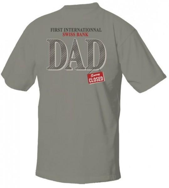 T-Shirt DAD, zinc