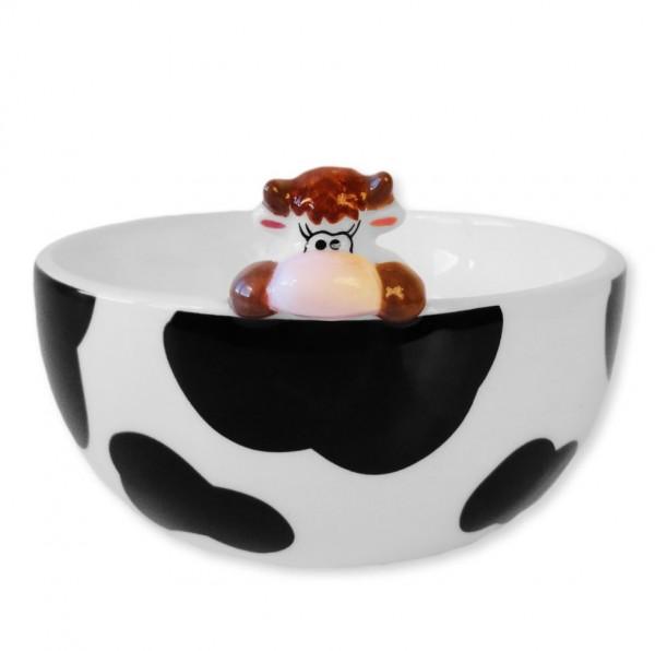 Müeslischale PRETTY COW, aussen