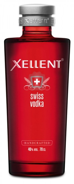 XELLENT Swiss Vodka 70cl, 40% Vol.