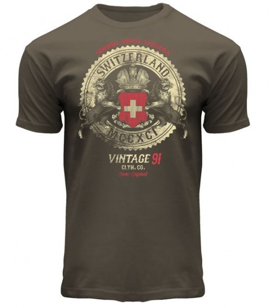 T-Shirt Switzerland Vintage
