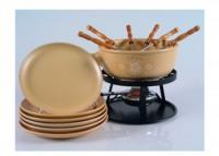 "Käse Fondue-Set ""Swiss Fondue"", 15-teilig, beige"