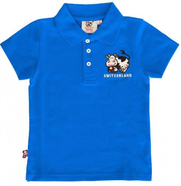 Kinder Poloshirt Milch-Kuh