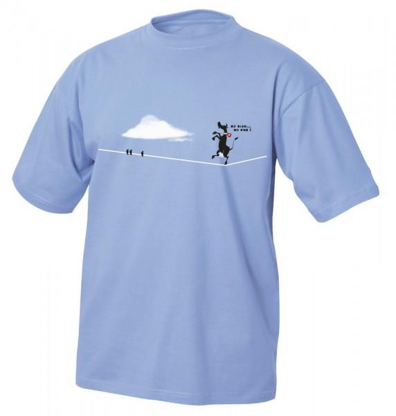 T-Shirt Kuh-Seiltanz