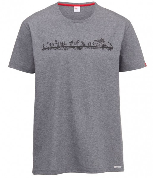 Herren T-Shirt Alpenschick Swiss
