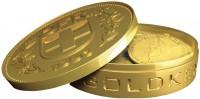 Schokoladen-Goldmünzen Dose CHF 5.-