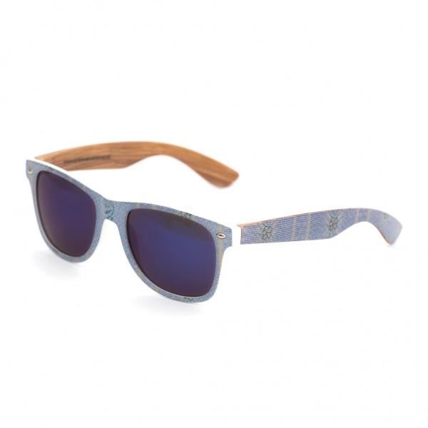 Sonnenbrille Edelweiss hellblau