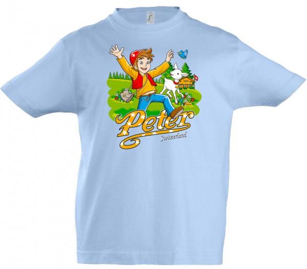 Kinder T-Shirt Peter, hellblau