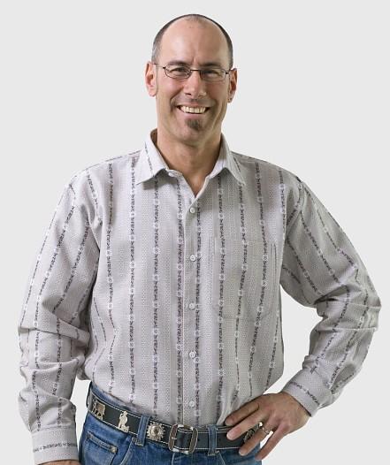 Herren Edelweiss-Hemd, Langarm mit Kent Kragen SP