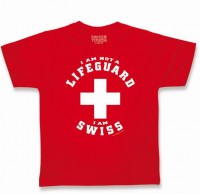 T-Shirt Lifeguard-Swiss, rot