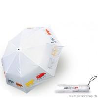 Regenschirm Cowlection, weiss