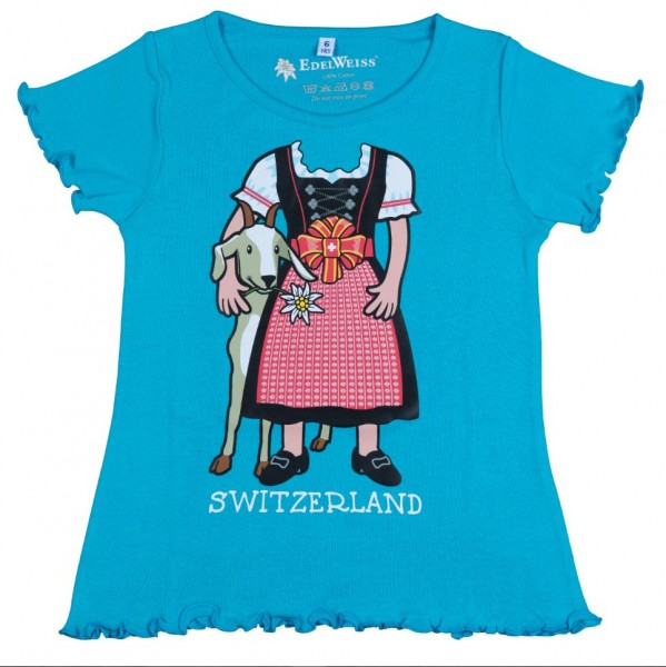 Mädchen T-Shirt Heidi