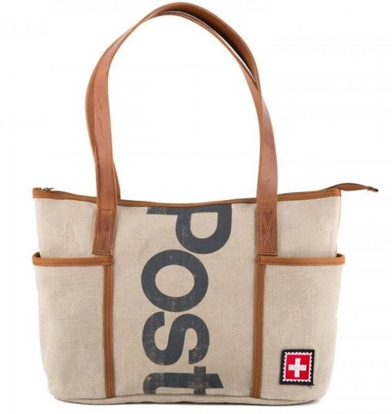 """Shopper Damen-Handtasche """"AB DIE POST"""""""