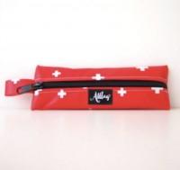 Schreibetui Schweizerkreuz rot
