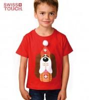 Kinder T-Shirt Barry, rot