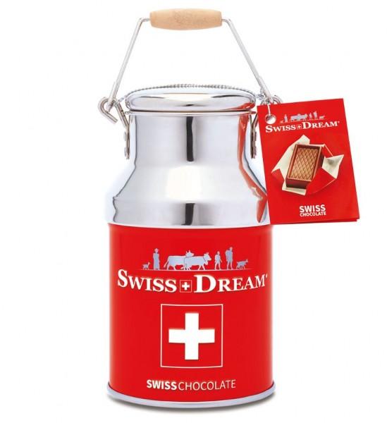 Schokolade Napolitains SwissDream Milchtopf Schweizerkreuz