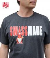 T-Shirt Swiss Made, anthrazit