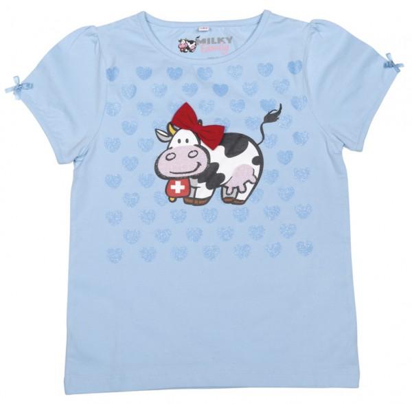 T-Shirt Milch-Blumen