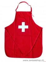 Küchenschürze CH-Kreuz