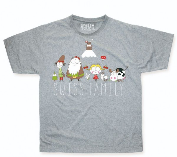 Kinder T-Shirt Swiss Family