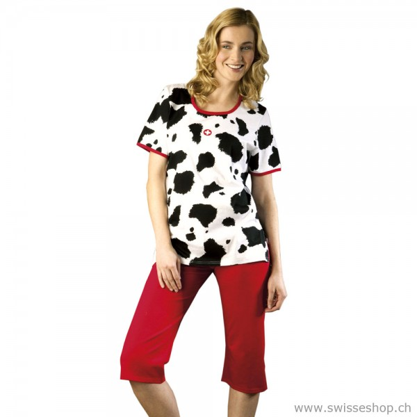 Pyjama 3/4 Cow Design