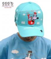 Kindermütze Mumu Cow blau Gondola