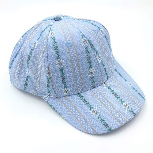 Cap Edelweiss hellblau
