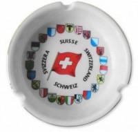 Aschenbecher Schweizer Kantone