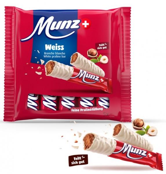 Munz Schokolade Prügeli weiss