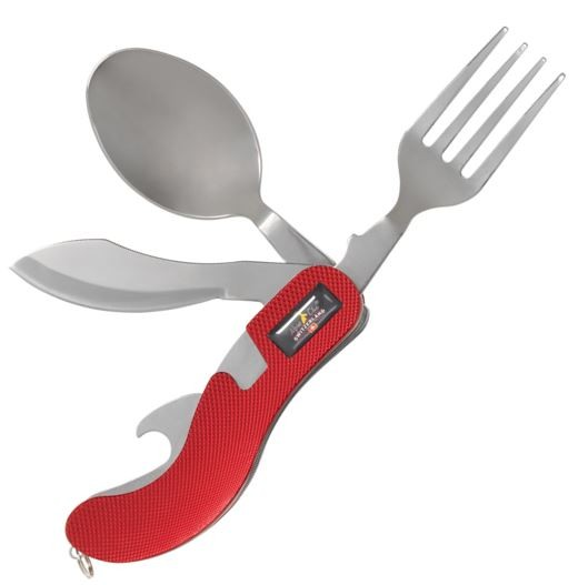 Picknick-Werkzeuge, rot