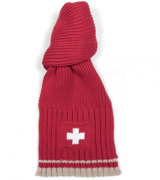 Winterschal Schweizer Kreuz