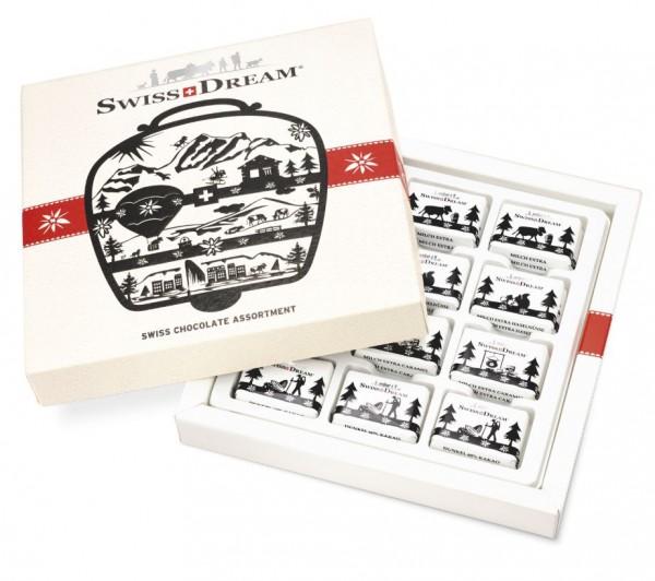 Schokolade Swissdream Schachtel Glocke