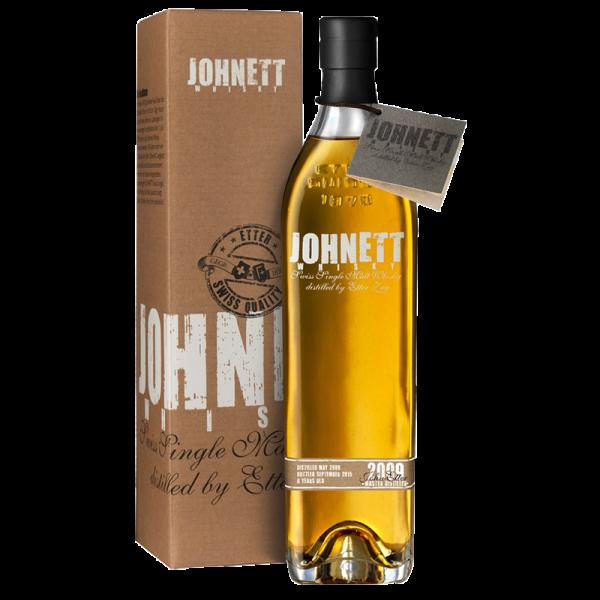 Johnett 2009 - 6 year old Swiss Single Malt Whisky 44%