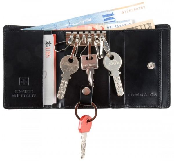 Schlüsseletui Portemonnaie mit Noten- und Kartenfach