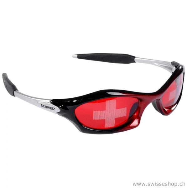 Fan brille sonnelbrille schweizerfan