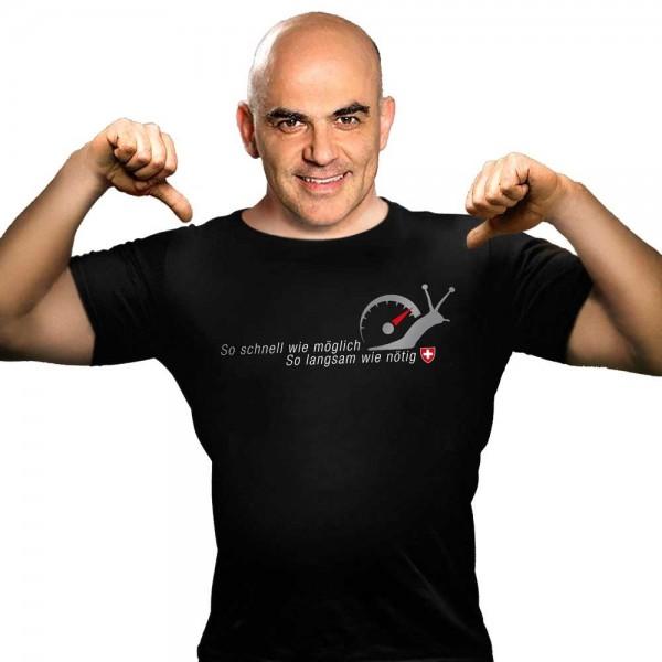 """T-Shirt """"So schnell wie möglich"""""""