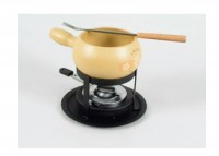 """Käse Fondue-Set """"Swissfondue"""", 4-teilig, beige"""